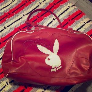 Red Playboy Bunny Bowling Ball Bag